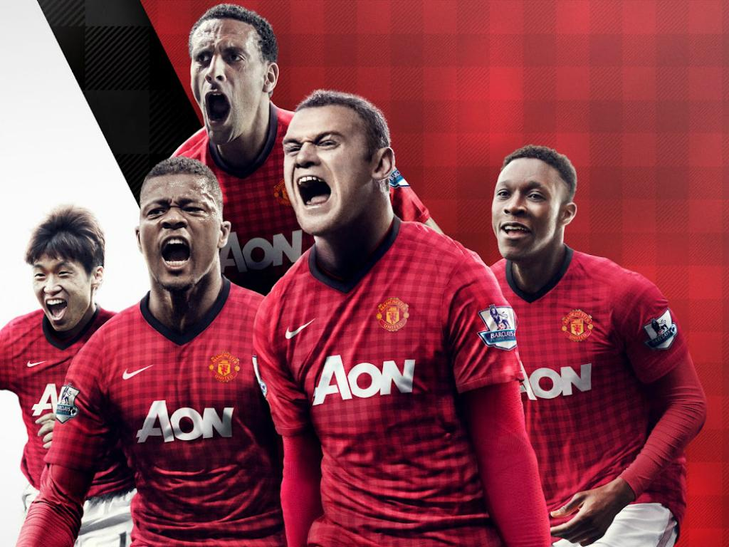 Equipamento do Man United para 2012/13