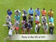 Equipa feminina dos Estados Unidos dança ao som de Miley Cyrus