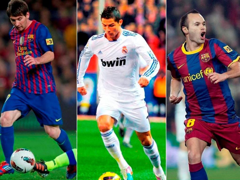Onze do «LEquipe» com quatro do Barça e quatro do Real Madrid