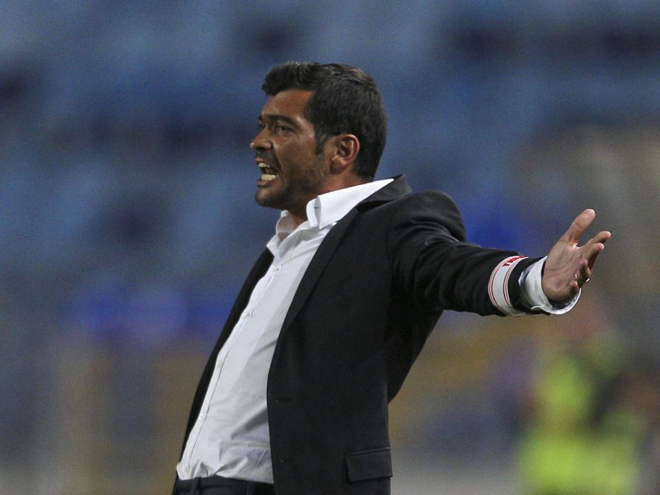 Sérgio Conceição: «Empate sofrido, valeu pela entrega»