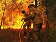 Fogo em Viseu (EPA/NUNO ANDRE FERREIRA)