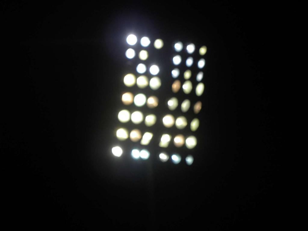Marítimo testou nova iluminação dos Barreiros
