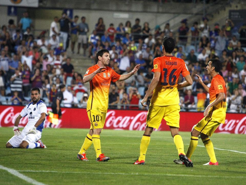 8f775800f2150e Messi: «Tenho sorte de ter caído neste Barça»