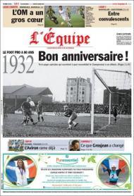 LÉquipe: a Liga francesa faz 80 anos