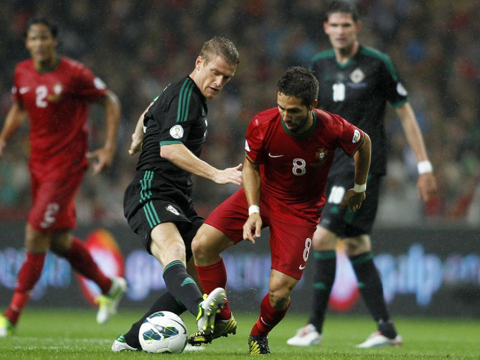 Irlanda do Norte frente a Portugal com problemas sérios na defesa