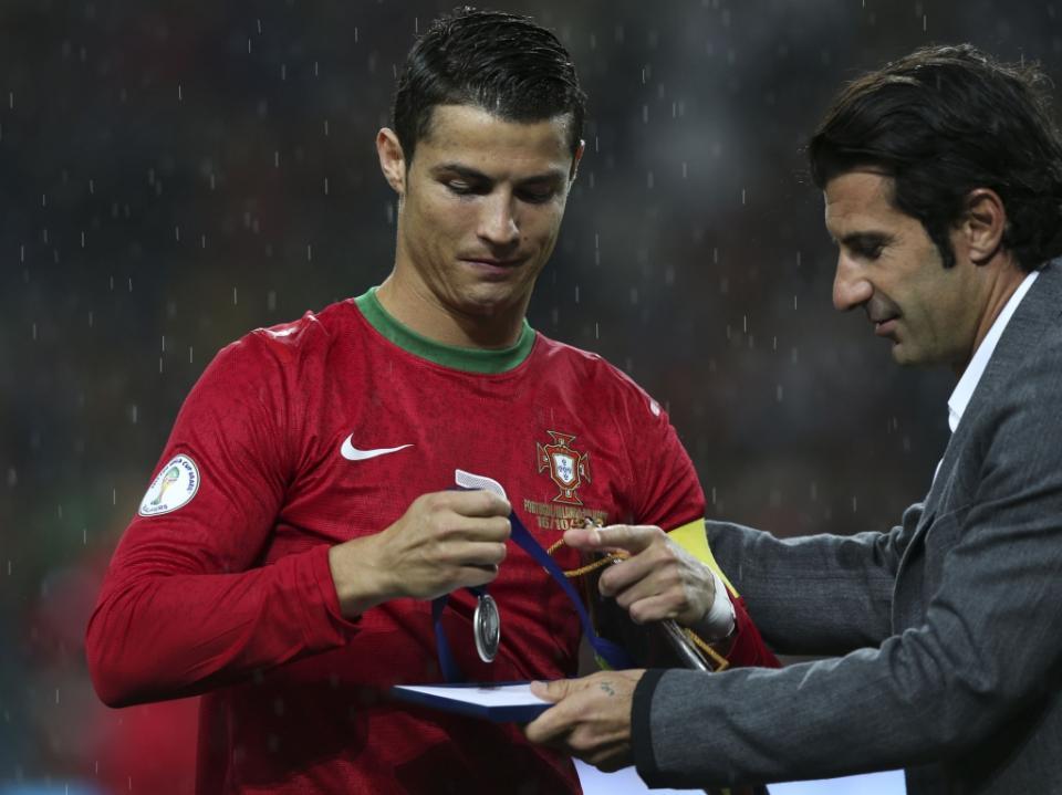 Figo: «Um dia Cristiano vai parar e o Real continuará o melhor»