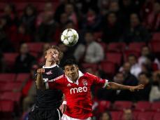 Benfica vs Spartak Moscow (LUSA)