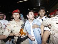 Messi chega à Arábia Saudita