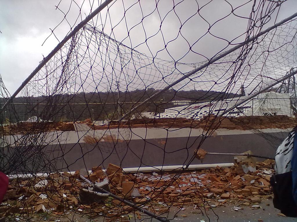 Tornado no Algarve: FPF ajuda Silves e Lagoa