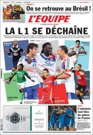 LÉquipe: a Liga francesa abre-se