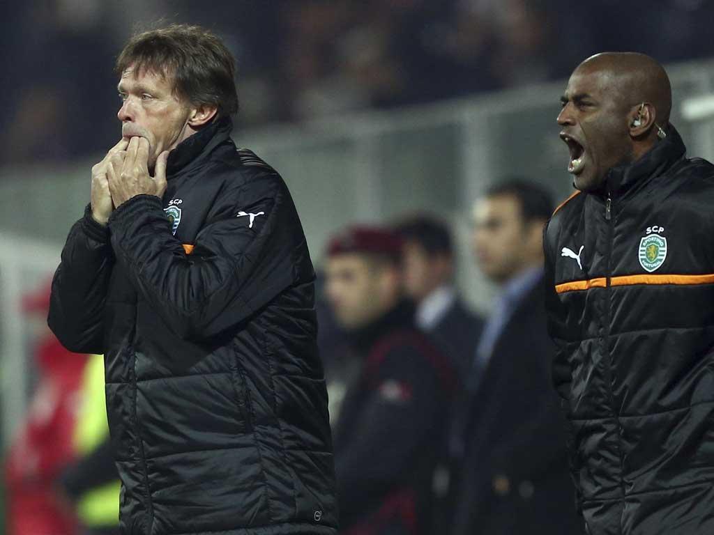 Sporting: Vercauteren é o treinador com mais jogos esta época