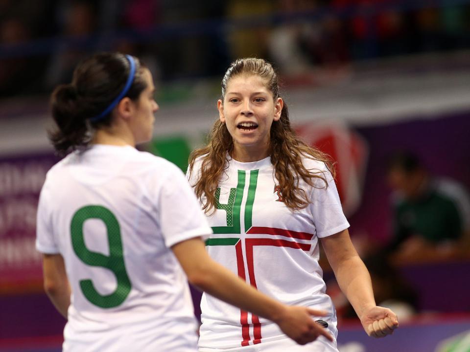 Futsal feminino: Portugal derrotado pela Espanha