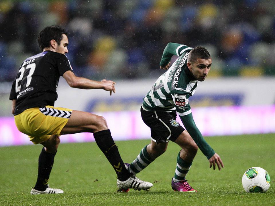 Sporting B empatou em Barcelos com golo de Ryan Gauld (final)