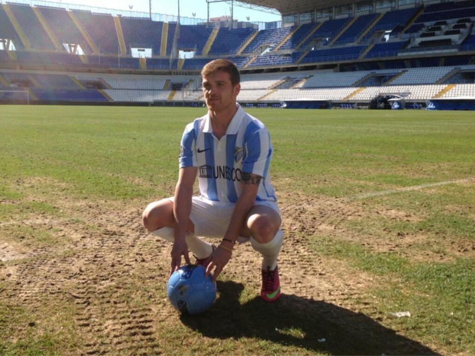 Málaga goleia Rayo Vallecano em jogo com quatro portugueses