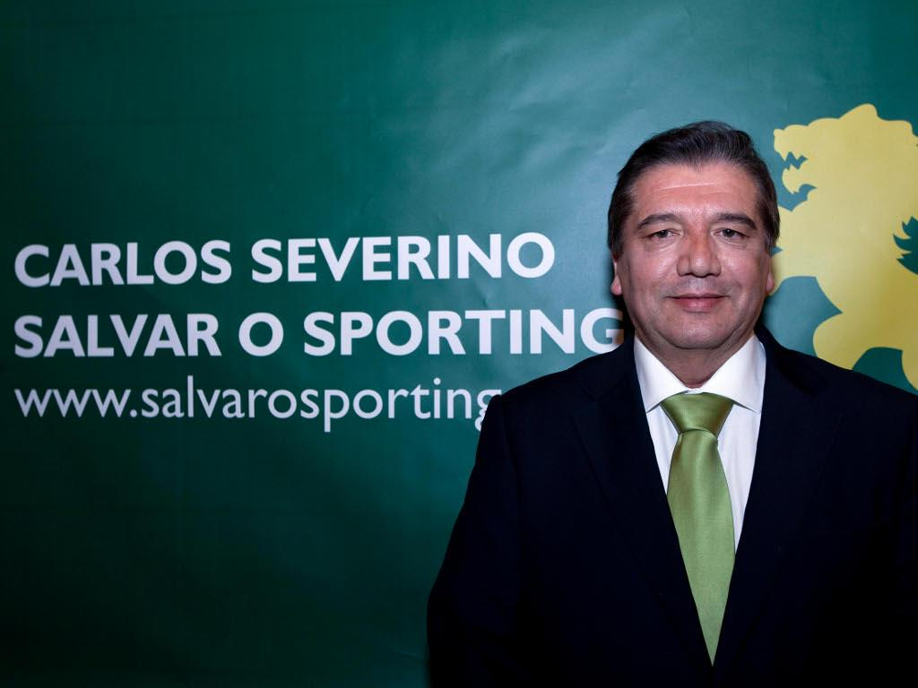Sporting: Carlos Severino formalizou candidatura