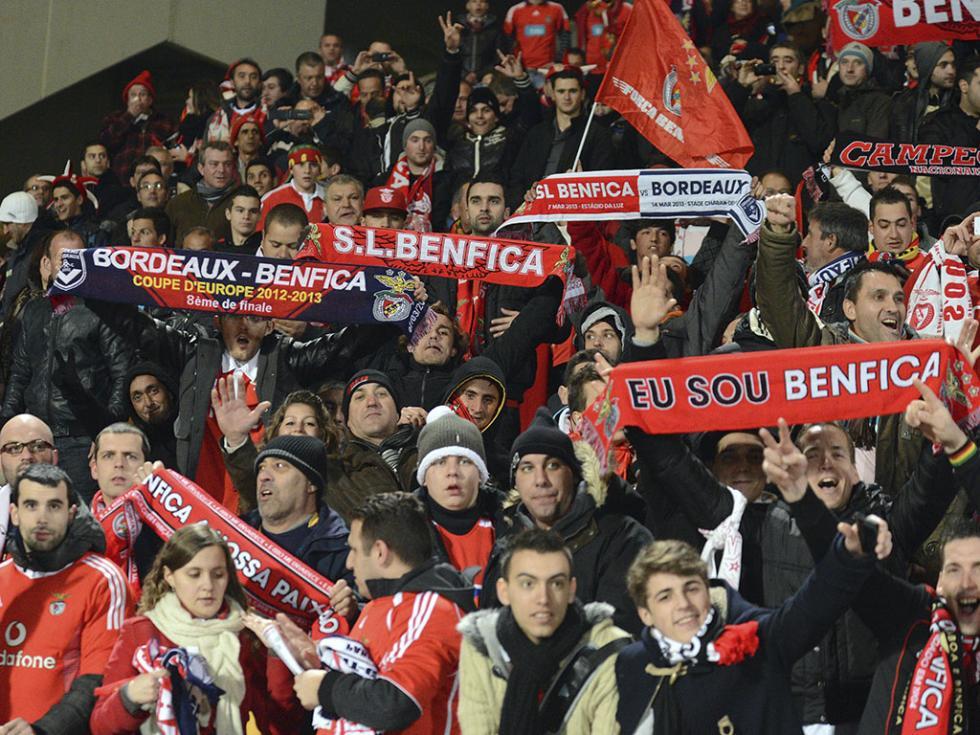 Girondins Bordeaux vs Benfica (EPA)