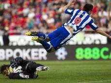 O Deportivo Corunha voou para a primeira vitória fora