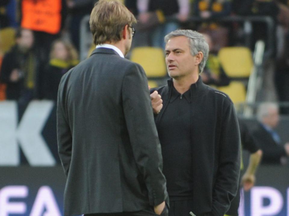 Mourinho sobre Klopp: «Não há amigos no futebol, mas é alguém de quem gosto»