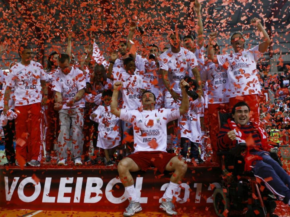 Voleibol: Benfica segue para os 16 avos da Taça Challenge