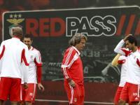 Benfica no Algarve: Fariña e Maxi Pereira já treinaram