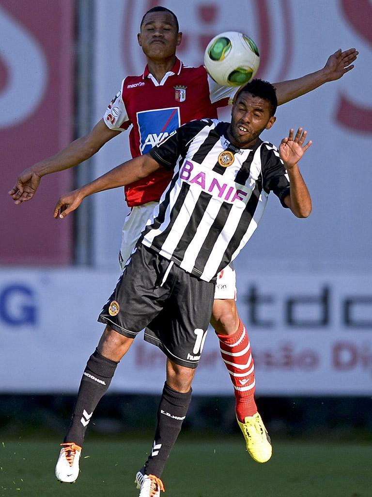 Sp. Braga-Nacional, 1-3 (destaques)