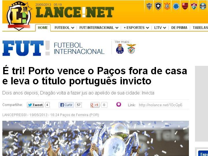 FC Porto tricampeão: Lance