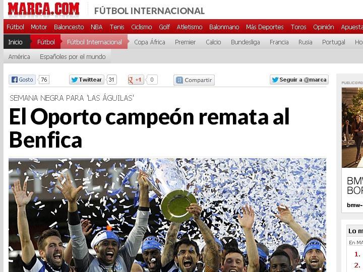 FC Porto tricampeão: Marca