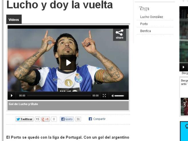 FC Porto tricampeão: Olé