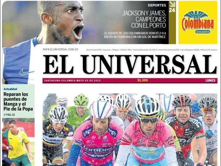 FC Porto tricampeão: Universal (Colombia)