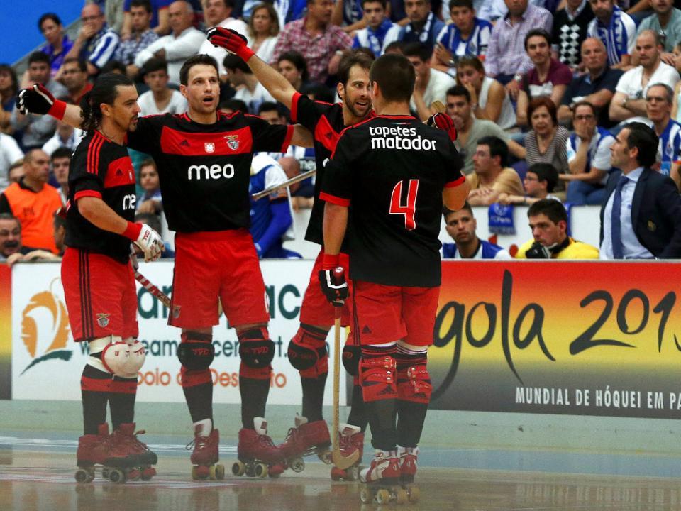 Hóquei em patins: Benfica venceu em Paço de Arcos (4-1)