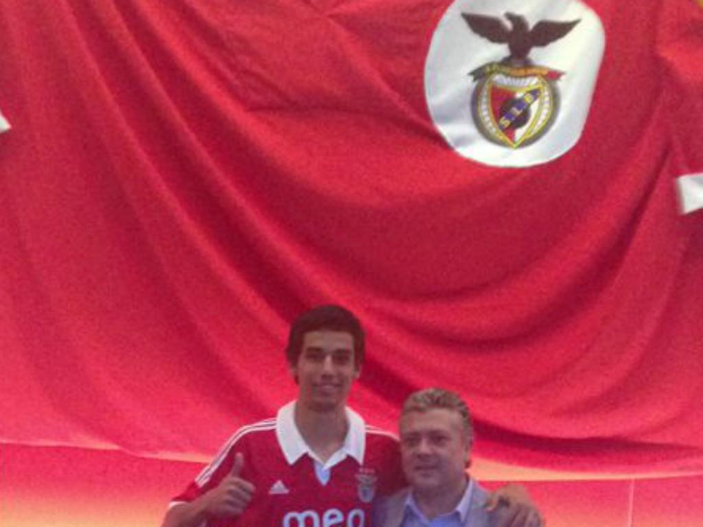Benfica: Marcos Valente assinou por cinco épocas