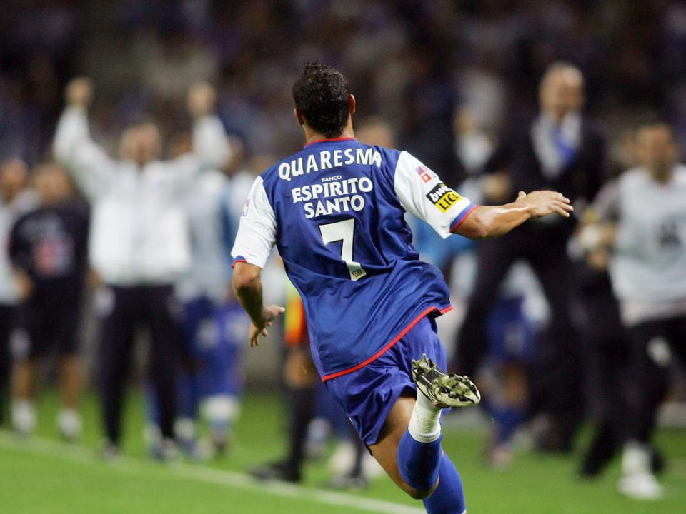 Ricardo Quaresma passou o fim-de-semana no Porto