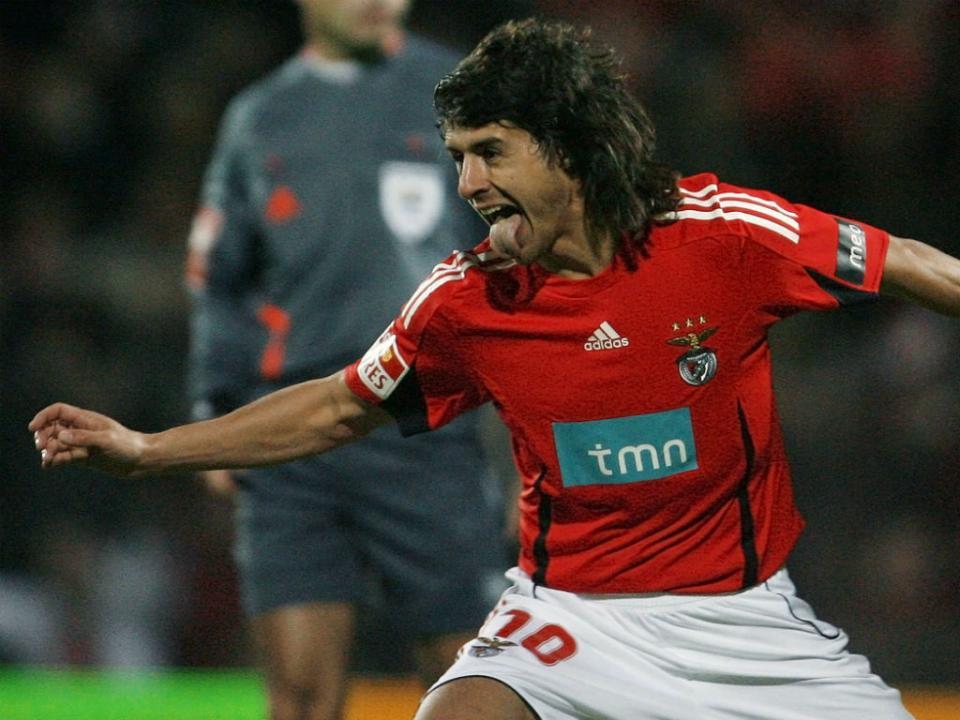 Aimar: «No Benfica não podes ganhar por menos de dois golos»