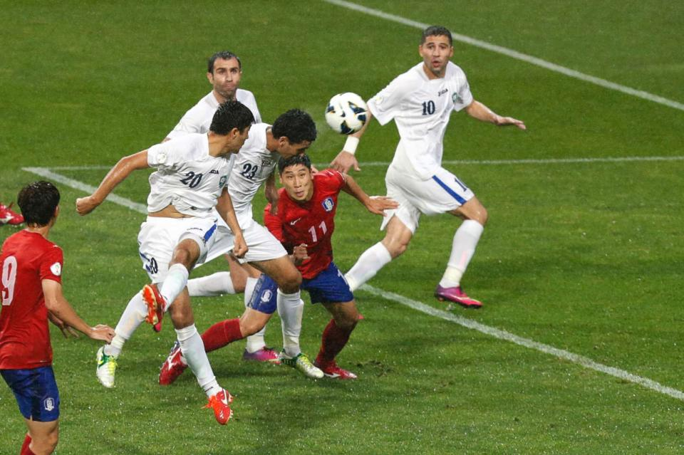 Mundial-2014: Uzbequistão empata na Jordânia (1-1)