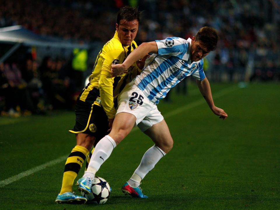 Taça do Rei: Antunes marca no empate do Málaga