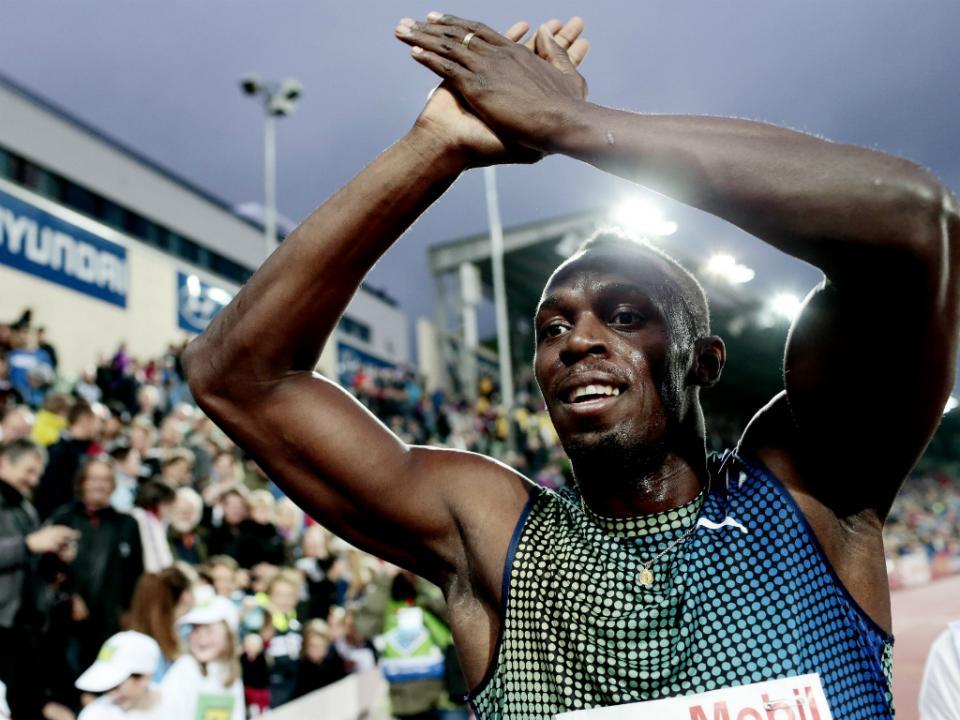 Ébola: Bolt e outros atletas juntam-se na luta contra a epidemia