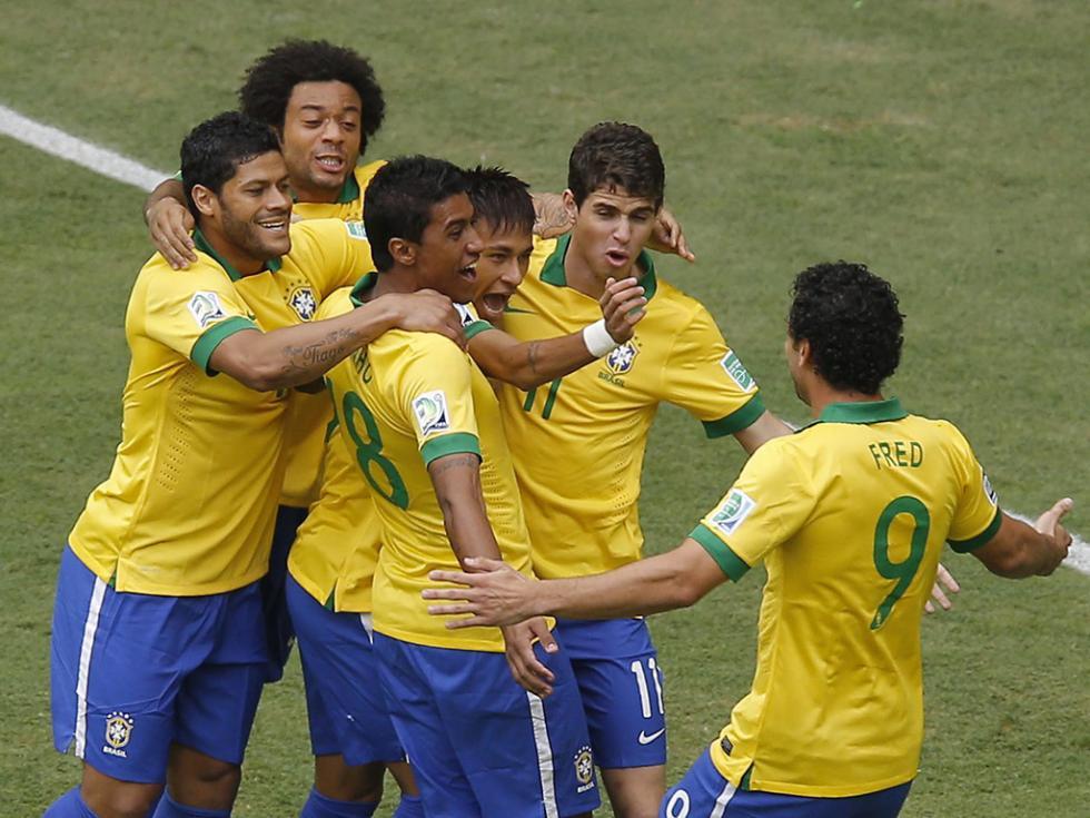 Taça das Confederações - Brasil vs Japão (EPA)
