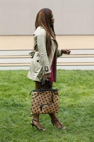 Serena Williams - Burberry coleção primavera verão 2014 Foto: Reuters