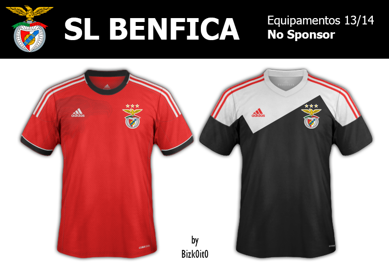 Equipamento do Benfica 2013/14