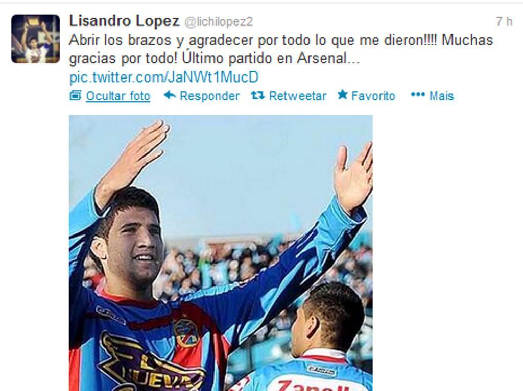 Lisandro López: «Quero ganhar a titularidade no Benfica»
