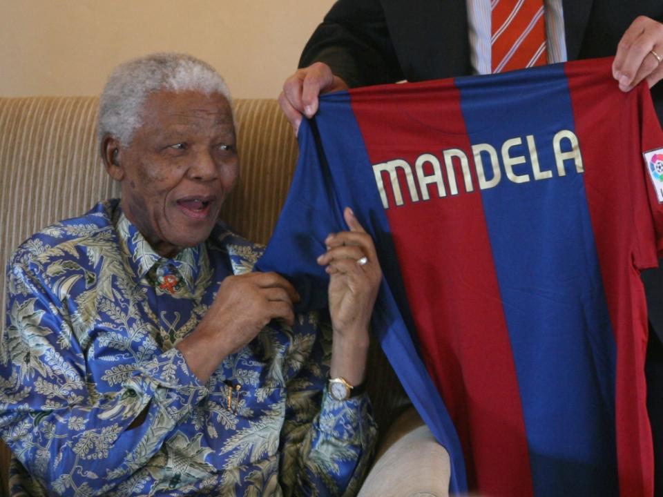 Barcelona: jogo na África do Sul para homenagear Nelson Mandela