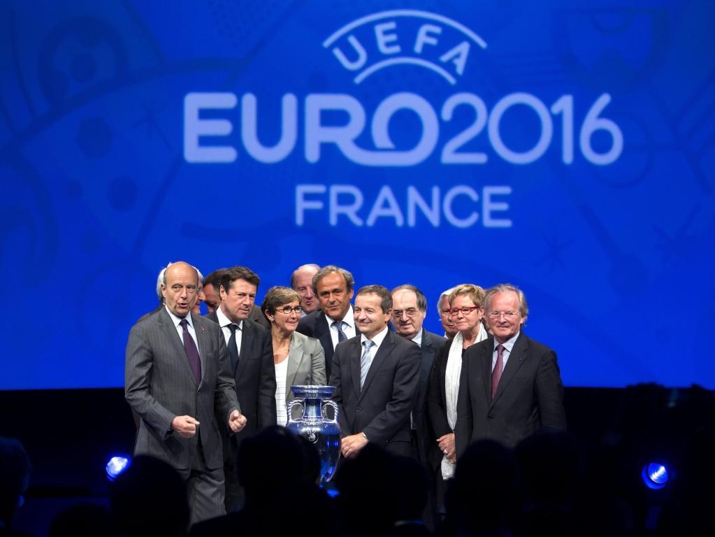 Euro 2016: UEFA reúne-se para definir o sorteio