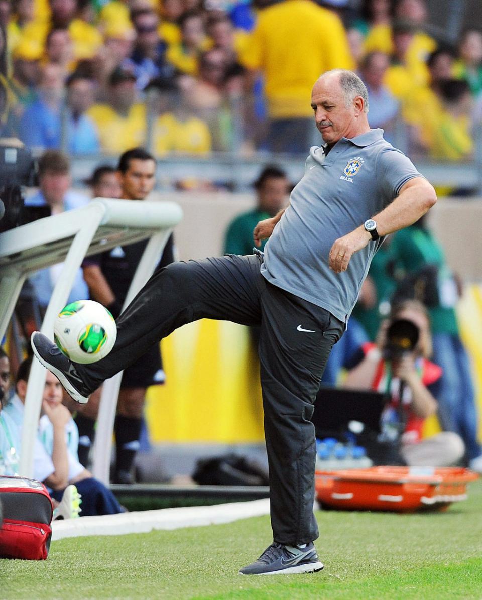 Portugal-Brasil: um jogo que Scolari nunca perdeu