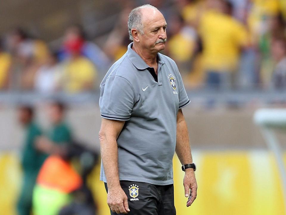 Brasil: Scolari vê «quatro ou cinco» vagas para o Mundial
