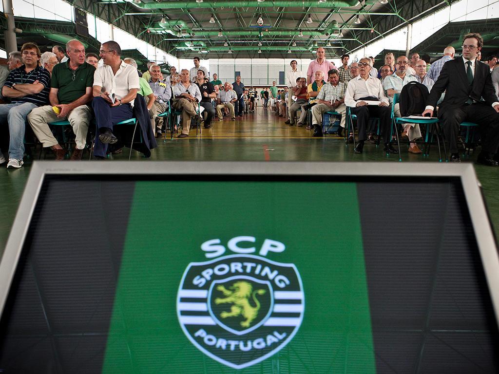 Sporting: AG com vídeoconferência e voto secreto