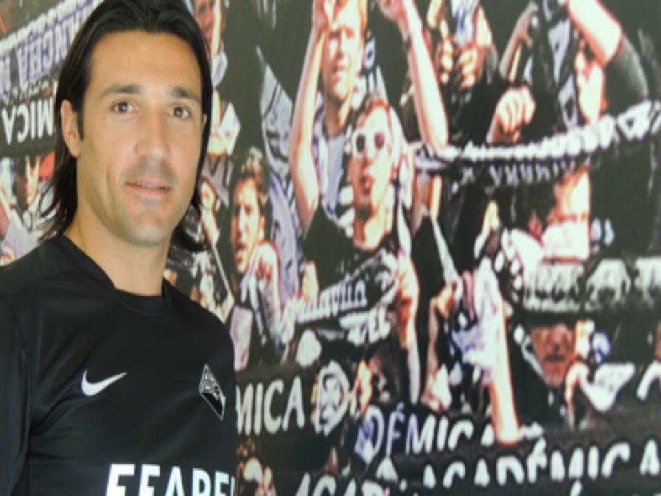 Académica: Fernando Alexandre de volta aos treinos