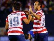 Donovan festeja regresso à seleção (Reuters/Mike Blake)
