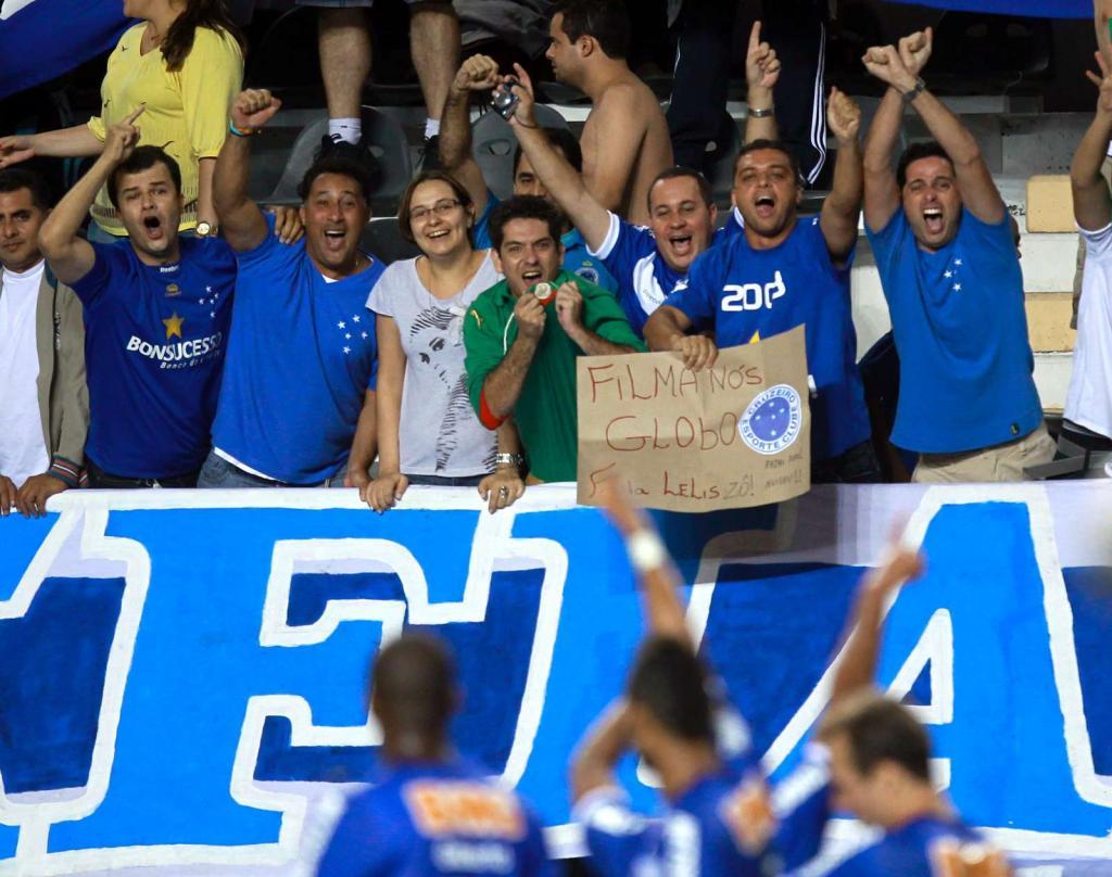 Brasileirão em inesperado ritmo de Cruzeiro