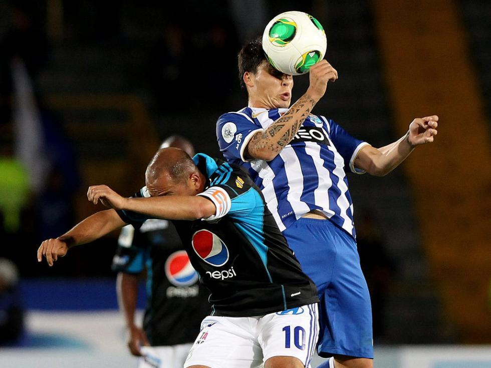 Millonarios-FC Porto (EPA)