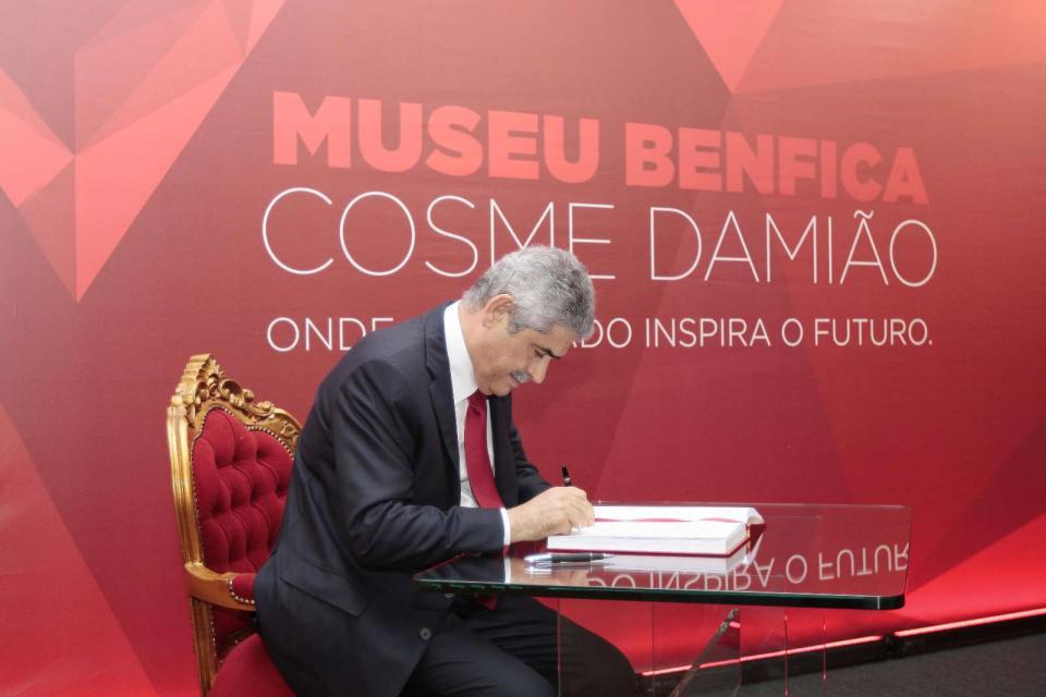 Vieira diz que Benfica TV multiplicou receitas televisivas por quatro
